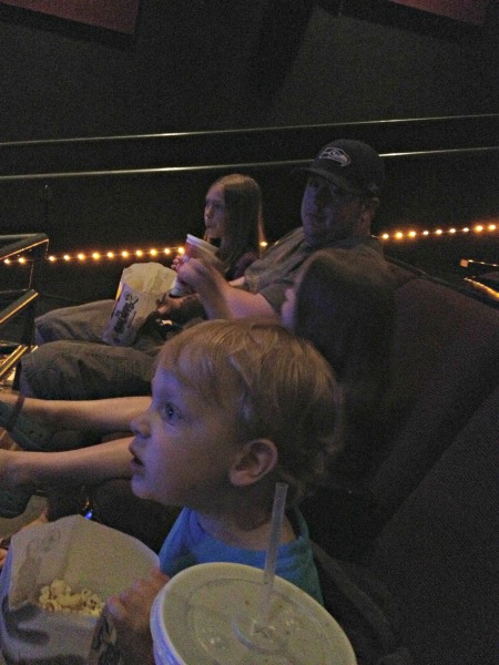 beating the heat at the movies.