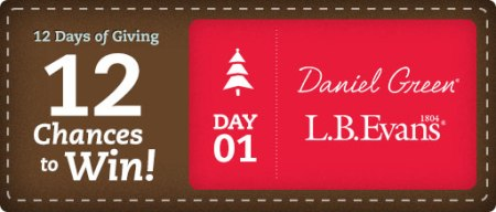 12 Days of Giving from OnlineShoes Day 1 Banner