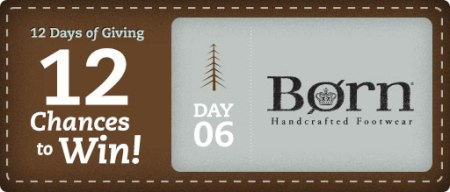 12 Days of Giving from OnlineShoes Day 6 Banner